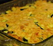 Vegetariánské cuketové lasagne se sýrem