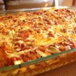 Jednoduché domácí lasagne