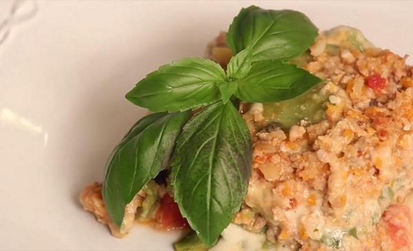 Kopřivové lasagne