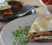Celerové lasagne s masem