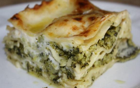 Lasagne s brokolicí