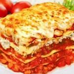 Lasagne se sýrem a smetanou