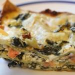 Lososové lasagne