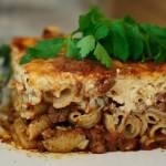 Řecké lasagne (Pastitsio)