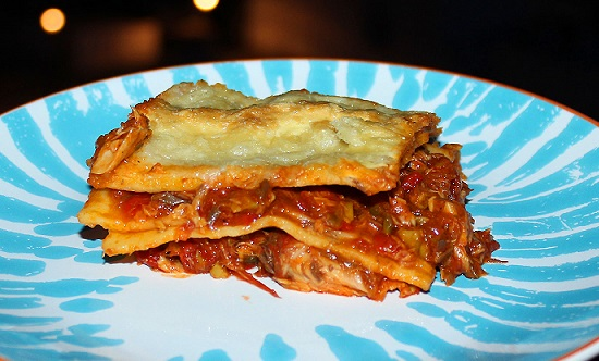 Španělské lasagne