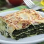 Pravé špenátové lasagne