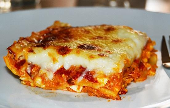 Tuňákové lasagne