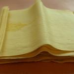Jednoduché domácí těsto na lasagne