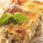 Lasagne s kuřecím masem a šunkou