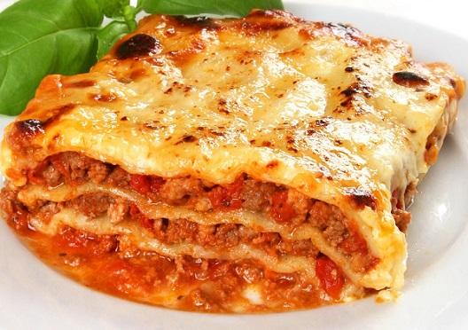 Lasagne z listového těsta podle Ládi Hrušky
