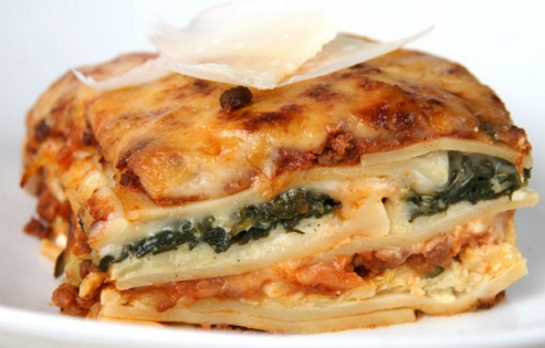 Lasagne s fenyklem