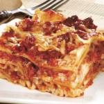 Lasagne s klobáskou