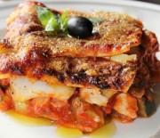 Lasagne s treskou a cuketou