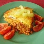 Slané palačinkové lasagne