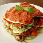 Zeleninové raw lasagne