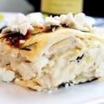 Sladké tvarohové lasagne